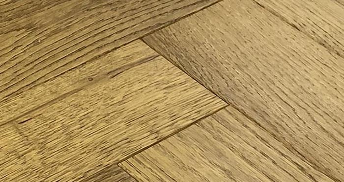 Trade Select Golden Brushed & Oiled Herringbone Engineered Wood Flooring - Descriptive 6