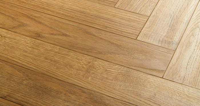 Vintage Chateau Herringbone - Nature Oak Laminate Flooring - Descriptive 2