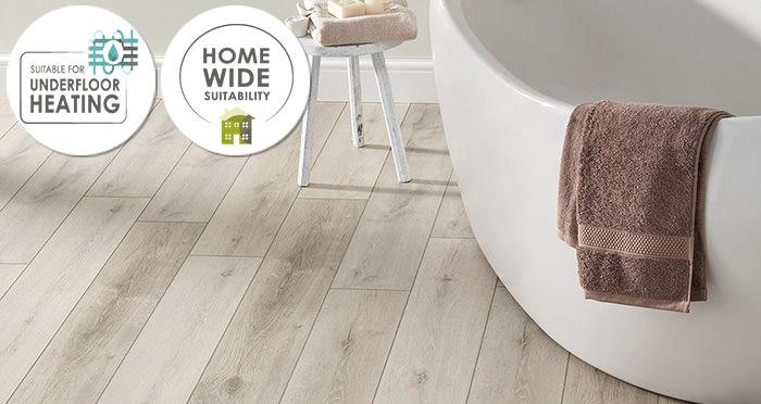 EvoCore Premium - Driftwood Grey Oak - Descriptive 1