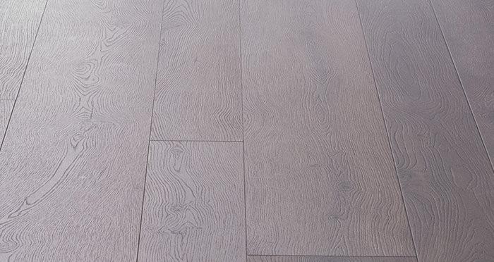 Barnwood Multi Width - Autumn Brown Oak Laminate Flooring - Descriptive 1