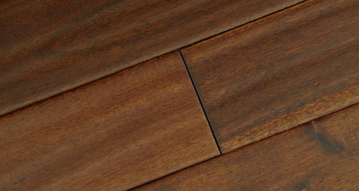 Deluxe Handscraped Acacia Solid Wood Flooring - Descriptive 2