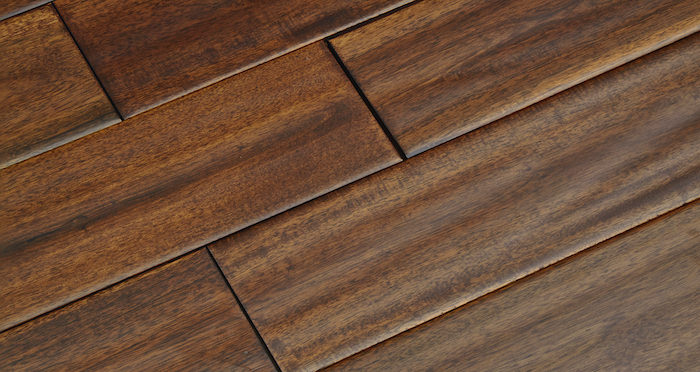 Deluxe Handscraped Acacia Solid Wood Flooring - Descriptive 3