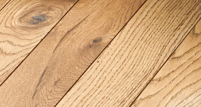 Castle Brown Oak 90mm Oiled Solid Wood Flooring - Descriptive 3