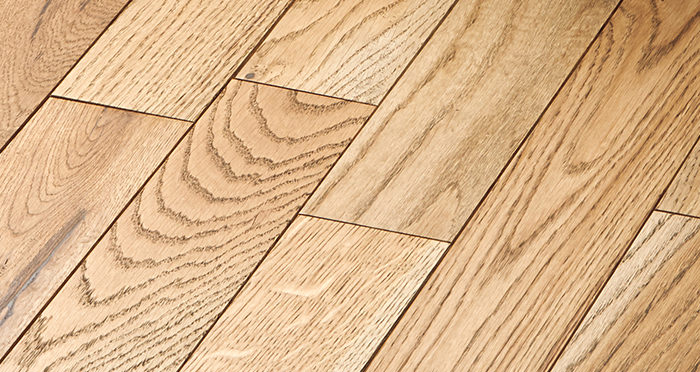 Castle Brown Oak 90mm Oiled Solid Wood Flooring - Descriptive 5
