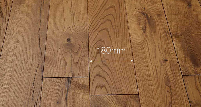 Luxury Cinnamon Oak Solid Wood Flooring - Descriptive 3
