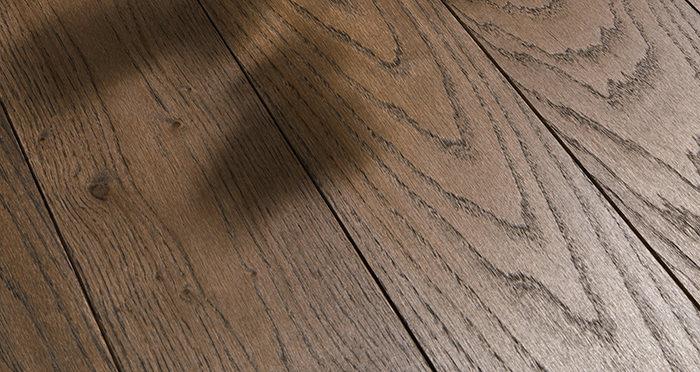 Deluxe Espresso Oak Solid Wood Flooring - Descriptive 1