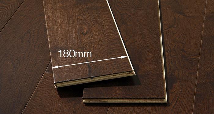 Manhattan Chocolate Oak Super Matt Lacquered Engineered Wood Flooring - Descriptive 3