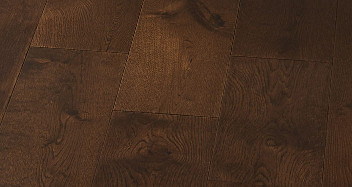 Manhattan Chocolate Oak Super Matt Lacquered Engineered Wood Flooring - Descriptive 4