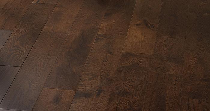 Manhattan Chocolate Oak Super Matt Lacquered Engineered Wood Flooring - Descriptive 5