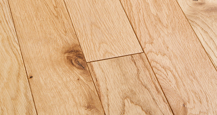 Natural Oak 90mm Oiled Solid Wood Flooring - Descriptive 1