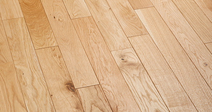Natural Oak 90mm Oiled Solid Wood Flooring - Descriptive 2