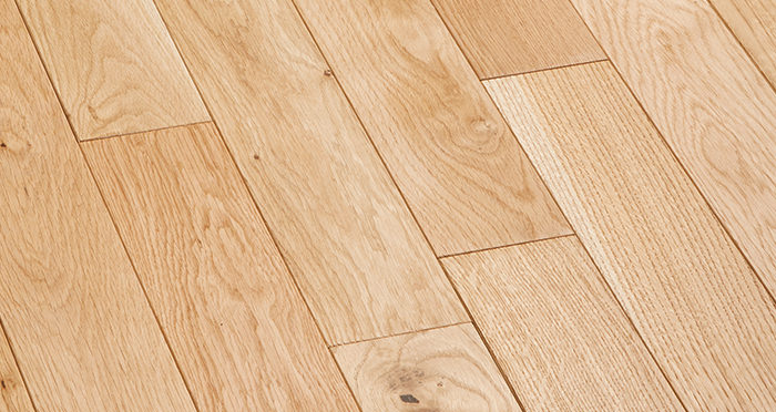Natural Oak 90mm Oiled Solid Wood Flooring - Descriptive 5