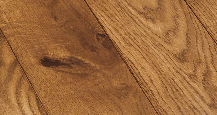 Deluxe Cinnamon Oak Solid Wood Flooring - Descriptive 2