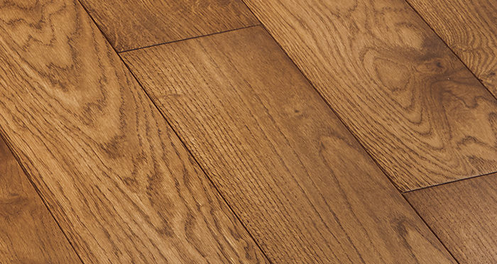 Deluxe Cinnamon Oak Solid Wood Flooring - Descriptive 4