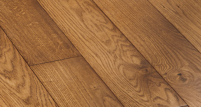 Deluxe Cinnamon Oak Solid Wood Flooring - Descriptive 5