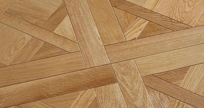 Avignon Natural Oak Brushed & Oiled Versailles Tile Engineered Wood Flooring - Descriptive 3