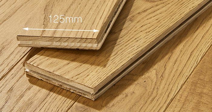 Elegant Golden Oak Brushed & Oiled Solid Wood Flooring - Descriptive 3