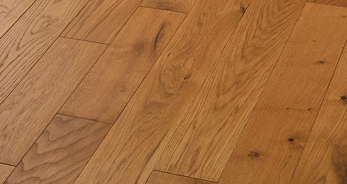 Luxury Golden Oak Solid Wood Flooring - Descriptive 4
