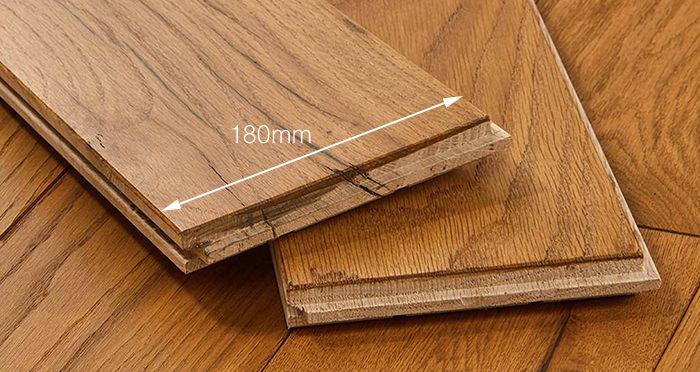 Luxury Golden Oak Solid Wood Flooring - Descriptive 6