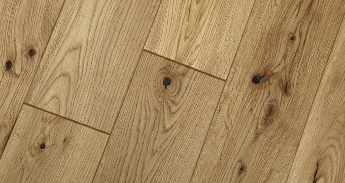 Whitewashed Cinnamon Oak Solid Wood Flooring - Descriptive 5