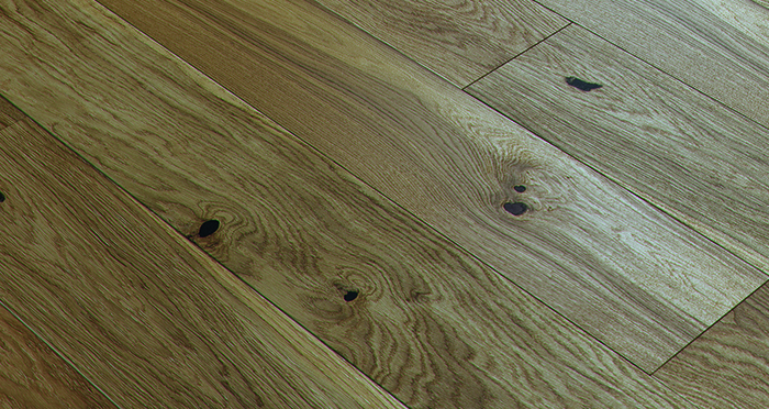 Trade Select 14mm x 180mm Natural Brushed & Oiled Engineered Wood Flooring - Descriptive 1