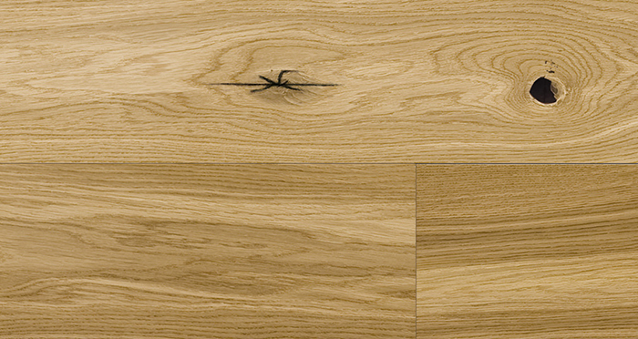 Trade Select 14mm x 180mm Natural Brushed & Oiled Engineered Wood Flooring - Descriptive 3