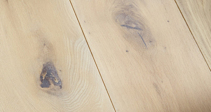 Prestige Frosted Oak Solid Wood Flooring - Descriptive 2
