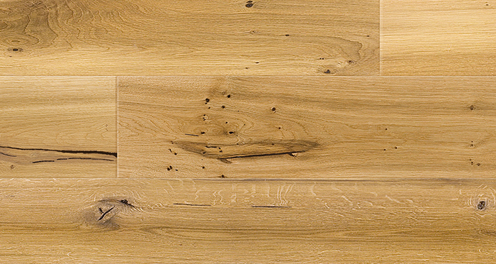 Trade Select 14mm x 155mm Natural Brushed & Oiled Engineered Wood Flooring - Descriptive 3