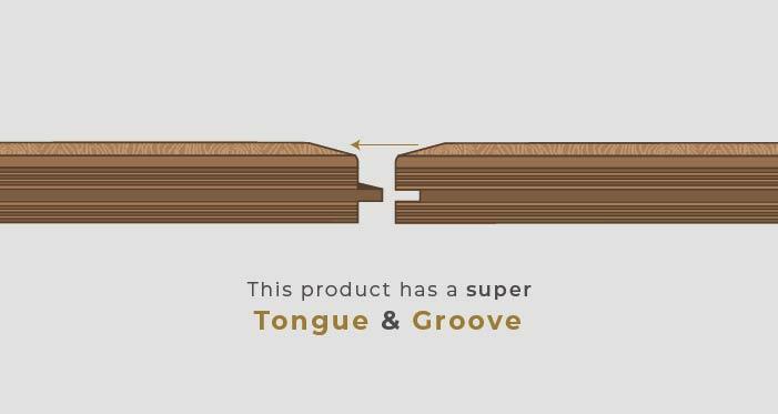 Chelsea Chevron - Woodland Oak Brushed & Lacquered Engineered Wood Flooring - Descriptive 5