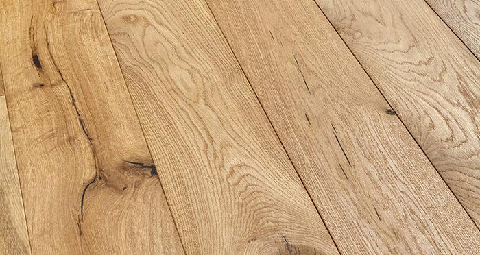 Manhattan Natural Oak Brushed & Oiled Engineered Wood Flooring - Descriptive 1