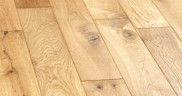 Manhattan Natural Oak Brushed & Oiled Engineered Wood Flooring - Descriptive 5