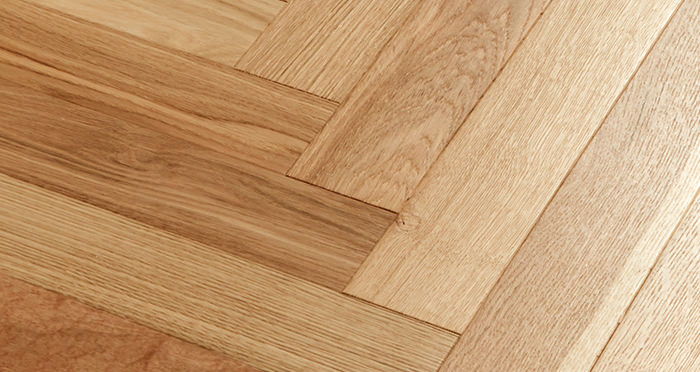 Branscombe Natural Coastal Herringbone Oak Engineered Wood Flooring - Descriptive 2