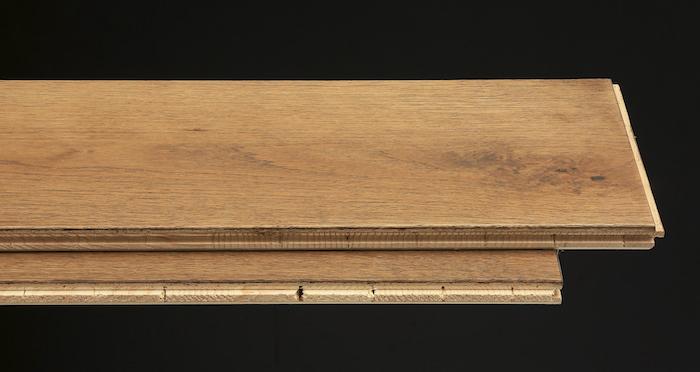 Prestige Herringbone Chocolate Oak Oiled Engineered Wood Flooring - Descriptive 1