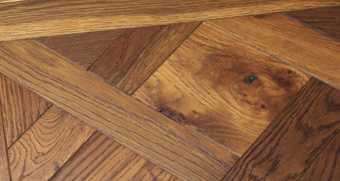 Rouen Chateau Smoked Oak Brushed & Oiled Engineered Wood Flooring - Descriptive 3