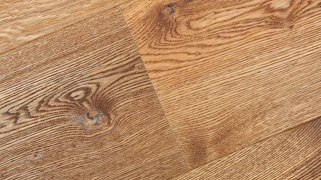 Trade Select Natural Brushed & Oiled Engineered Wood Flooring 190mm - Descriptive 2