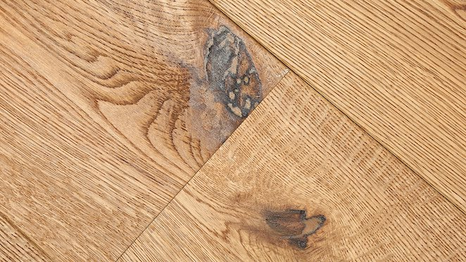Trade Select Natural Brushed & Oiled Engineered Wood Flooring 190mm - Descriptive 3