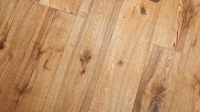 Trade Select Natural Brushed & Oiled Engineered Wood Flooring 190mm - Descriptive 4