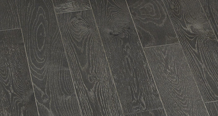 Studio Graphite Oak Brushed & Oiled Engineered Wood Flooring - Descriptive 1