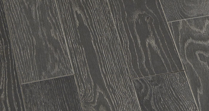 Studio Graphite Oak Brushed & Oiled Engineered Wood Flooring - Descriptive 3