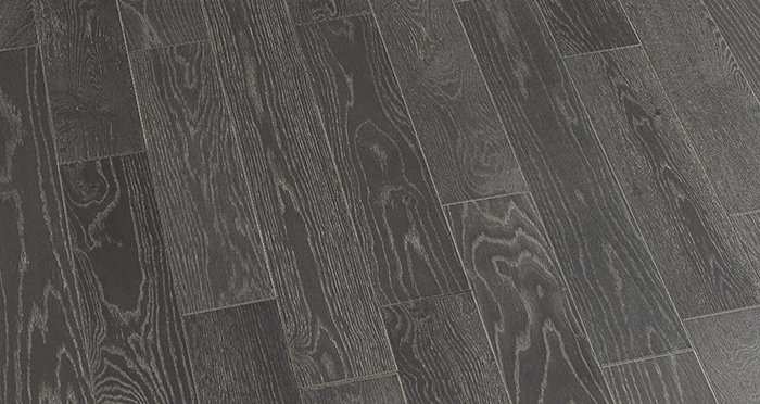 Studio Graphite Oak Brushed & Oiled Engineered Wood Flooring - Descriptive 4