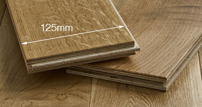 Penthouse Natural Oak Lacquered Engineered Wood Flooring - Descriptive 3