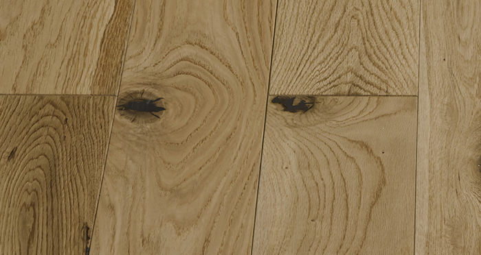 Penthouse Natural Oak Lacquered Engineered Wood Flooring - Descriptive 4