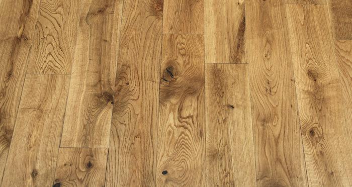 Natural Oak 90mm Lacquered Solid Wood Flooring - Descriptive 3
