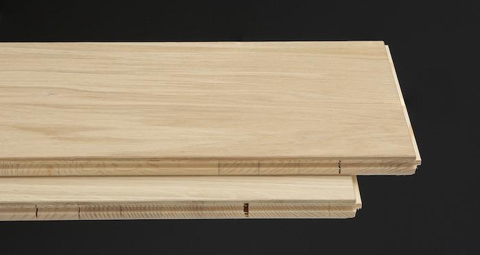 Grande Unfinished Oak Brushed & Oiled Engineered Wood Flooring - Descriptive 1