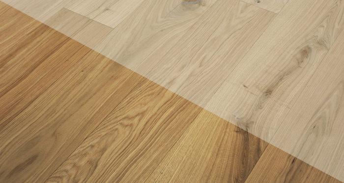 Grande Unfinished Oak Brushed & Oiled Engineered Wood Flooring - Descriptive 2