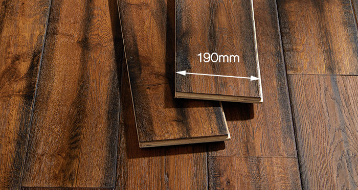 Bronzed Old French Oak Lacquered Engineered Wood Flooring - Descriptive 5