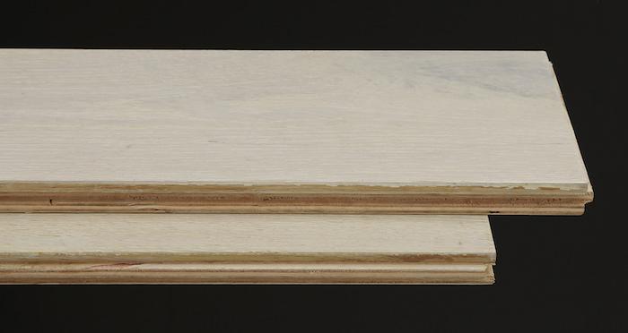 Polar Oak Brushed & Wax Oiled Engineered Wood Flooring - Descriptive 1