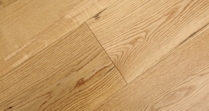 Barn Natural Oak Lacquered Engineered Wood Flooring - Descriptive 4