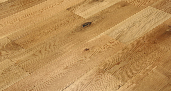Barn Natural Oak Lacquered Engineered Wood Flooring - Descriptive 5