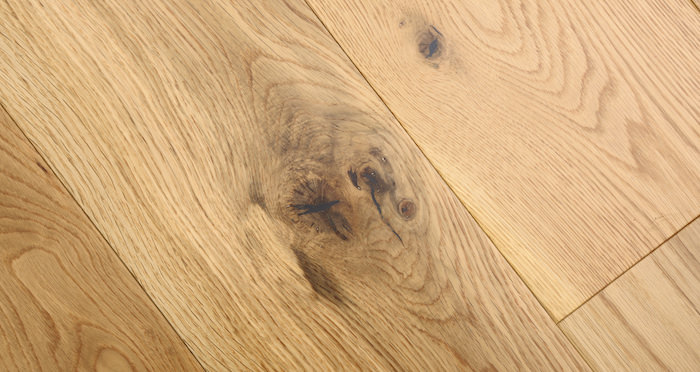 Barn Natural Oak Lacquered Engineered Wood Flooring - Descriptive 6